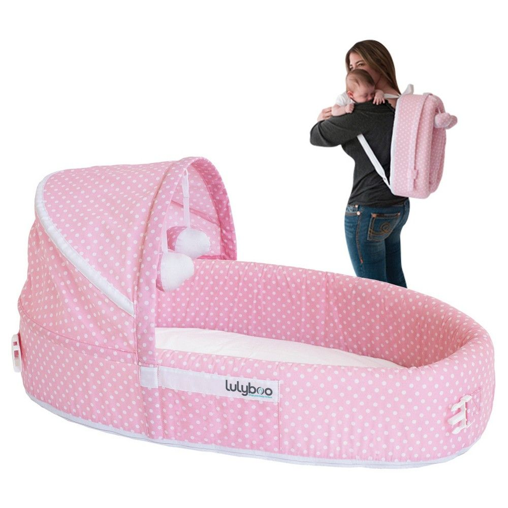 Lulyboo Baby Lounge - Pink Dot