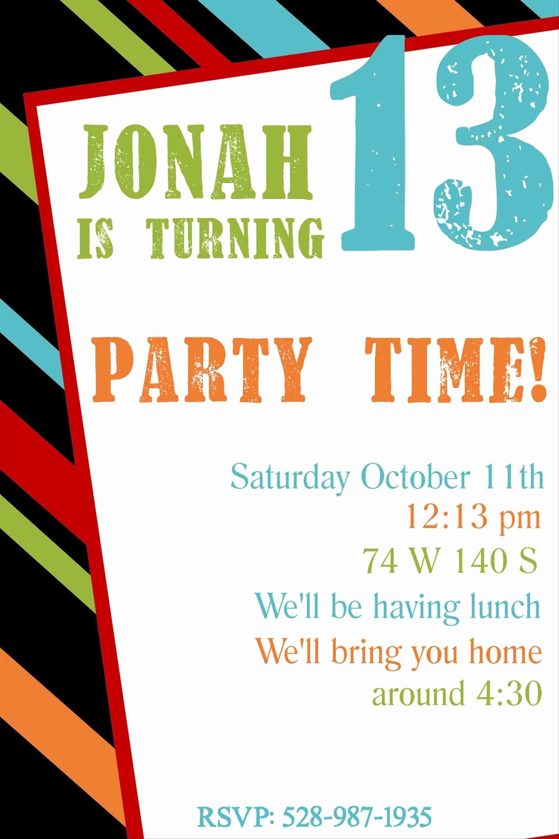Kids Birthday Invitation Template Inspirational Full Siz Birthday Party Invitations Printable Birthday Party Invitation Templates Birthday Invitation Templates