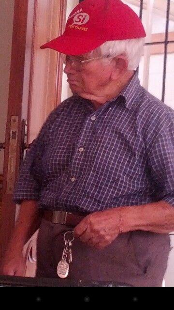 Querido amigo Don Pedro. 90 años