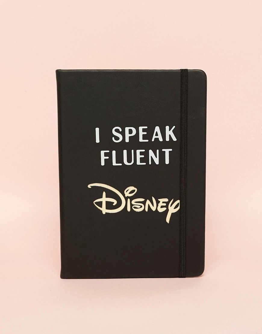 2fd80098f17 I Speak Fluent Disney Notebook