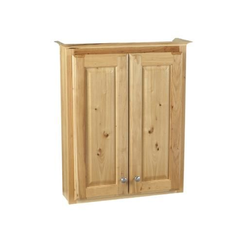 Allen Roth 24 W Carson Hickory Over The Toilet Cabinet