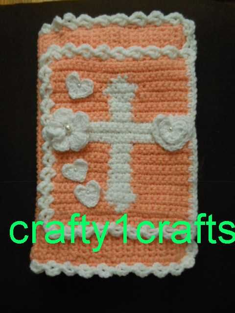 Crocheted Bible Cover With A Victorian Look Things I Make