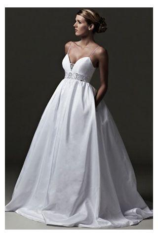 Satin Wedding Dress Straps