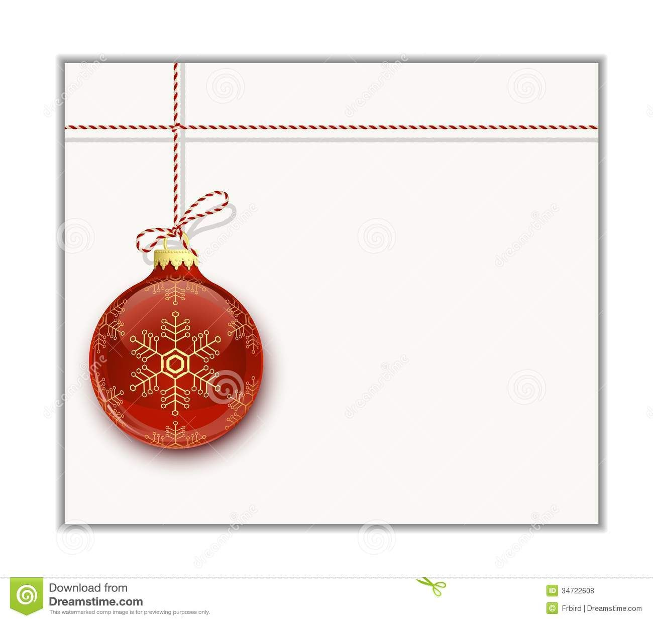 Christmas Card Template Stock Vector Illustration Of Clip Within Blank Christmas Card Templates Free Christmas Postcard Template Christmas Photo Card Template