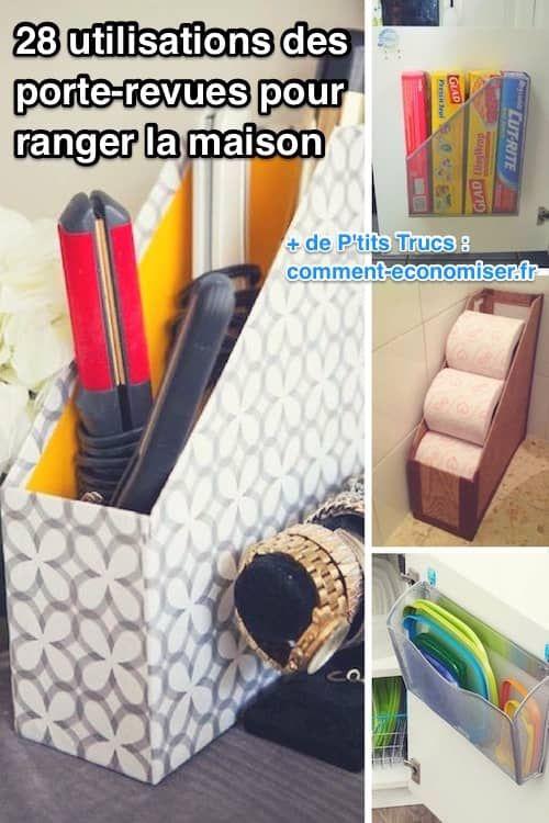 28 utilisations g niales des porte revues pour ranger. Black Bedroom Furniture Sets. Home Design Ideas