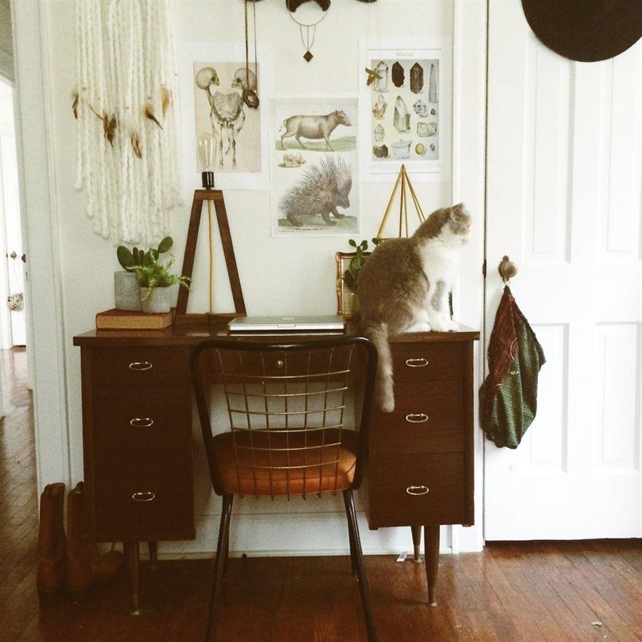 25+ Ambrosial Boho Desk Ideas