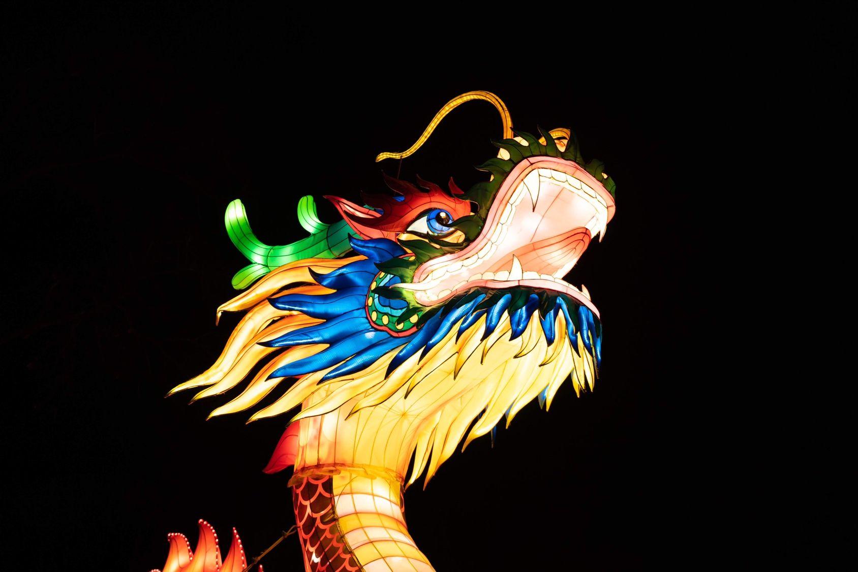 Nyc Winter Lantern Festival Snug Harbor Cultural