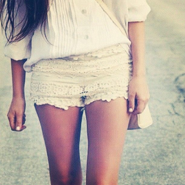 #lace #shorts