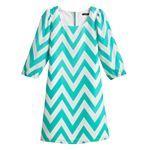 My Michelle Chevron Dress - Girls 7-16