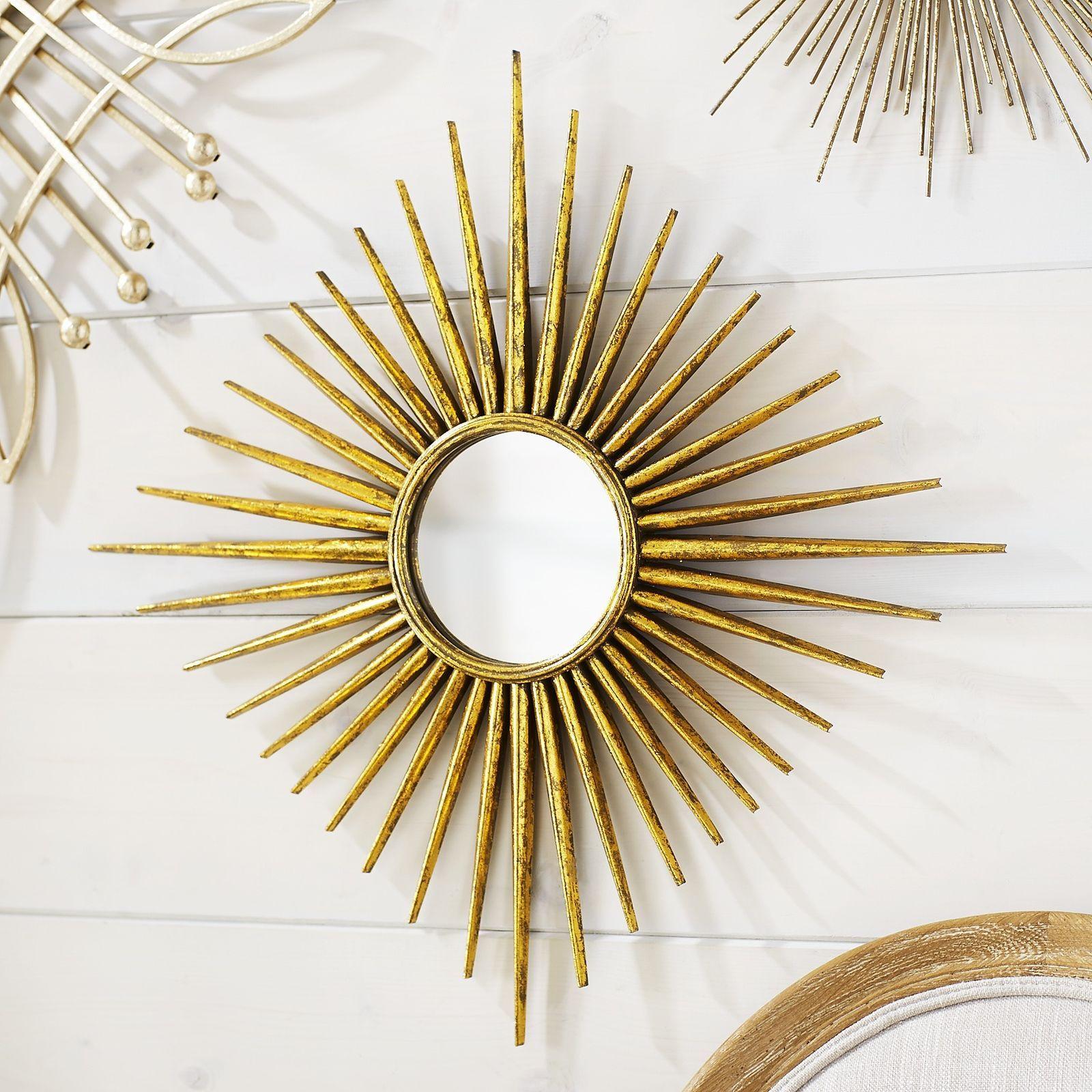 Golden spur round mini mirror pier 1 imports mirror