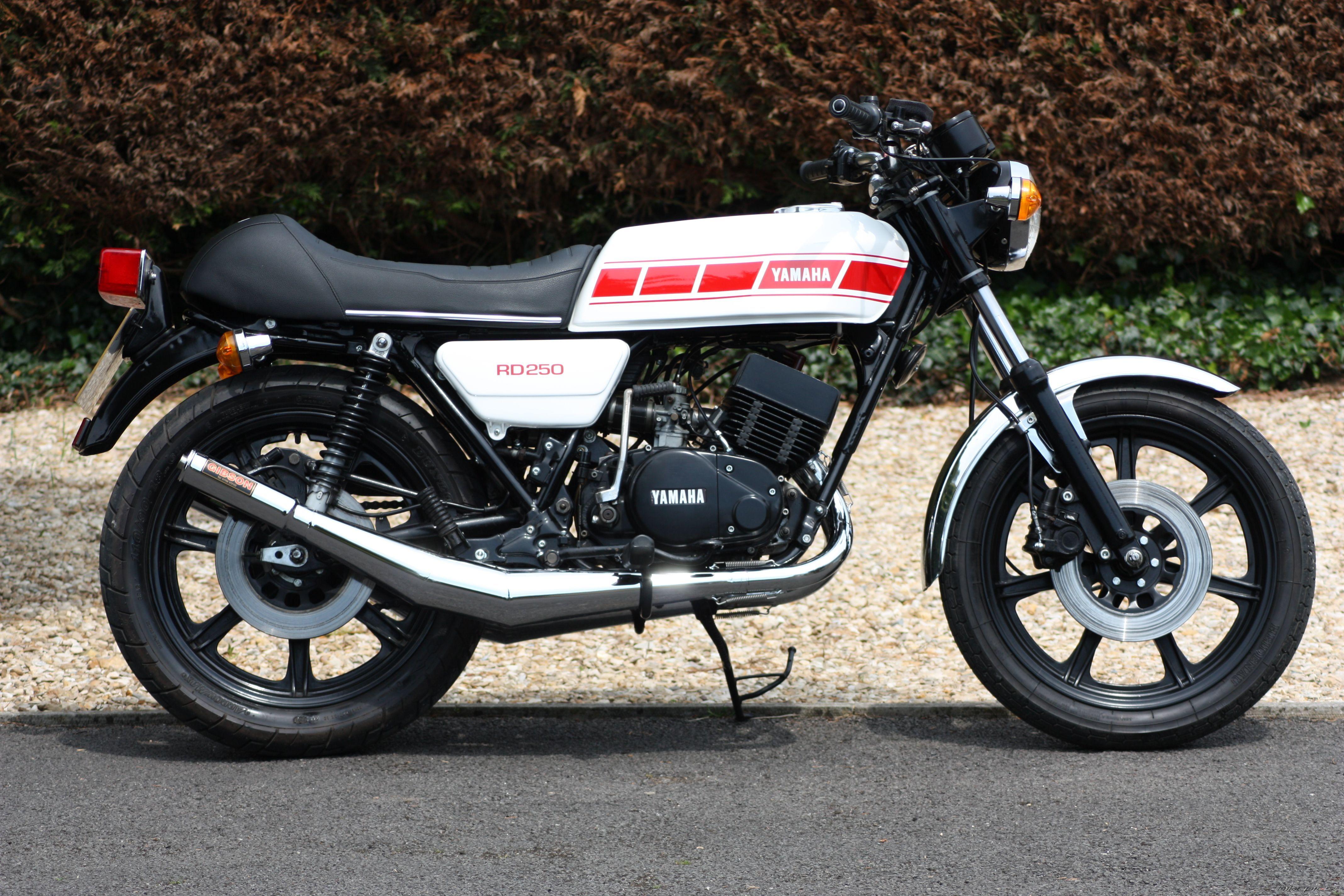 1978 Custom Yamaha RD250 Japanese Motorcycle, Motorcycle Art, Yamaha Rx100,  Cool Motorcycles,