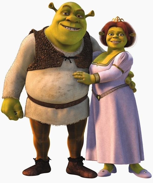 Shrek And Fiona (Shrek) (c) DreamWorks Animation
