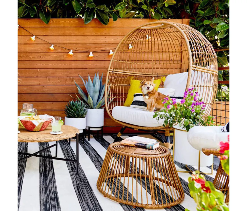 Southport Patio Egg Chair - Opalhouse in 2020 | Patio ... on Target Outdoor Living id=79316