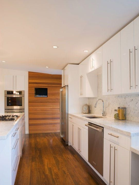 Before After Renovation A Granny Kitchen Goes Modern Kitchen