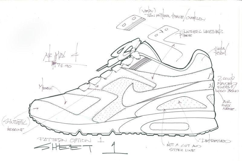 shoe concept design sketches search air max