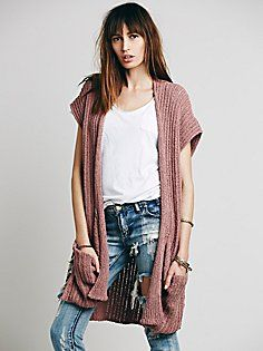 Sloppy Pocket Cardigan