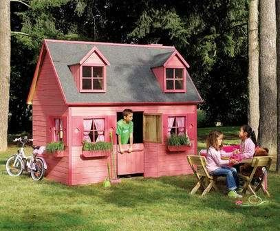 Kinderspielhaus HEIDI Kinderhaus Gartenhaus Gartenhäuser Spielhaus