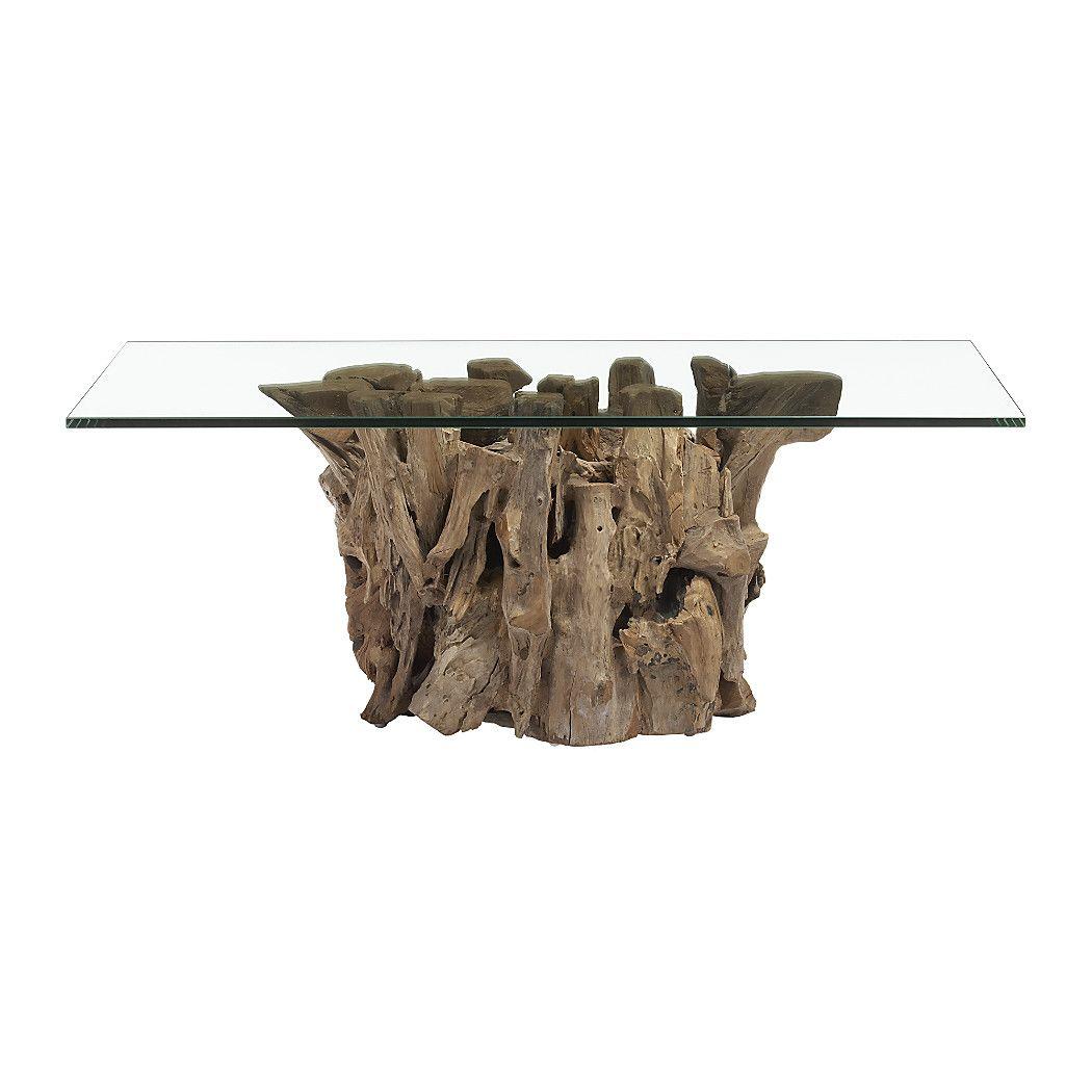 Driftwood Coffee Table Driftwood Coffee Table Coffee Table Coffee Table Crate And Barrel [ 1050 x 1050 Pixel ]
