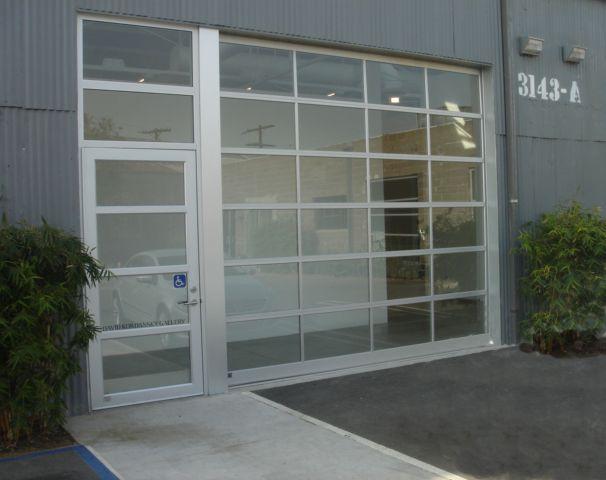 Glass Garage Door House Ideas Pinterest Glass Garage Door