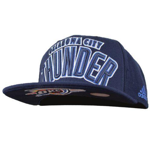 a92da7ae3 adidas Oklahoma City Thunder 2013 NBA Draft Authentic Snapback Hat ...