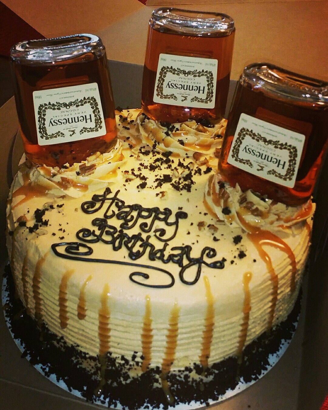 Hennessys cake By me Party ideas Pinterest Cake
