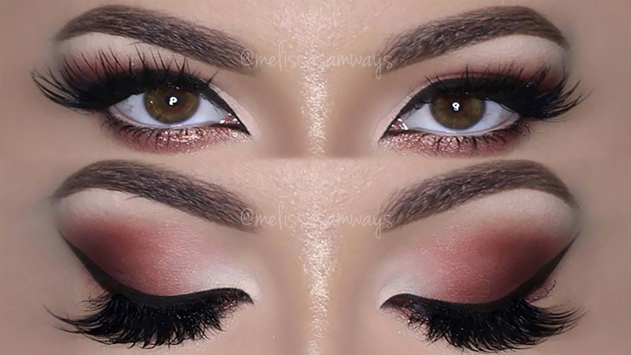 fall inspired makeup tutorial using huda beauty rose gold fall inspired makeup tutorial using huda beauty rose gold palette me baditri Image collections