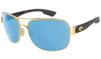 9285f42bc0a1 Costa Del Mar Sunglasses - Cocos- Glass / Frame: Gold Lens: Polarized Blue  Mirror 580 Glass Costa Del Mar. $229.95