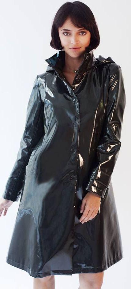 Pin By Kyokyoro On Pvc Rain Coats, Plastic Trench Coat