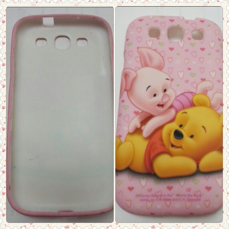 Pink Pooh S3 Case