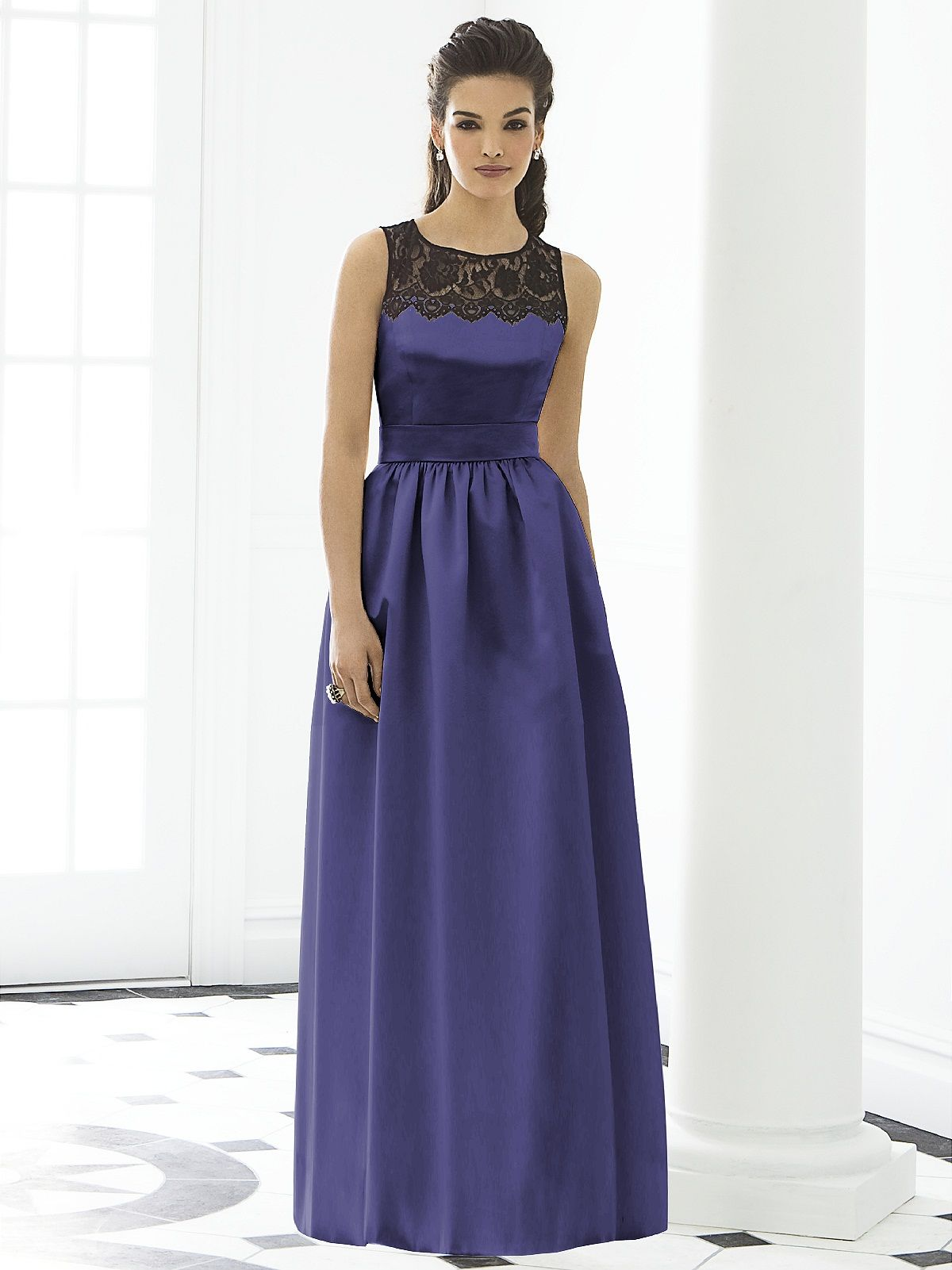 After Six Bridesmaid Style 6645 #purple #bridesmaid #dress | Tracy\'s ...