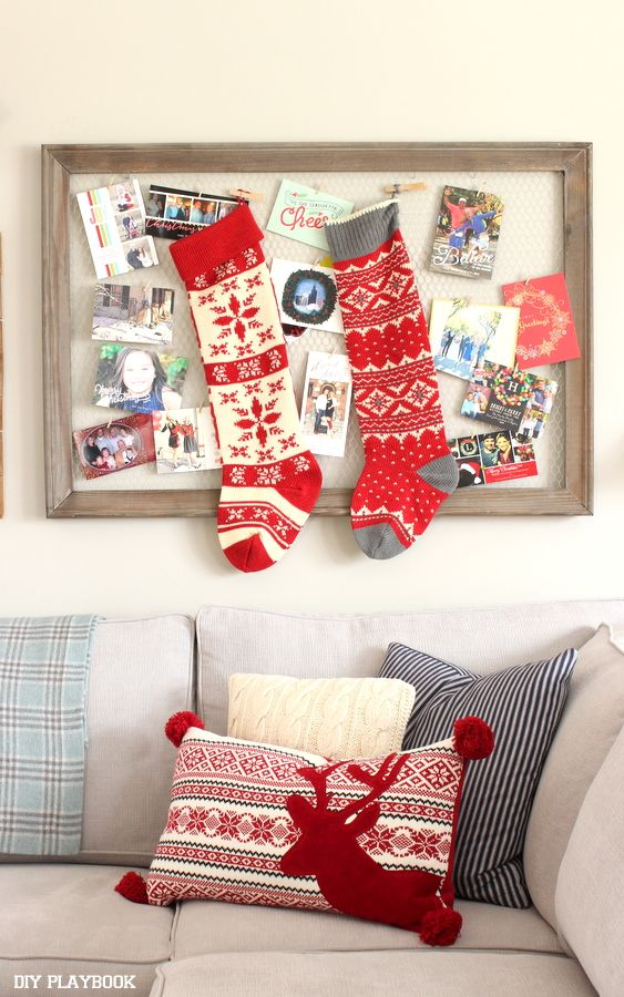 Christmas Card Displays to Showcase your Favorite Cards in your ...