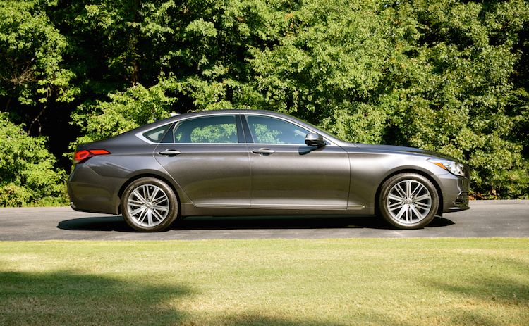 2018 Genesis G80 Trends magazine, Six models, Body style
