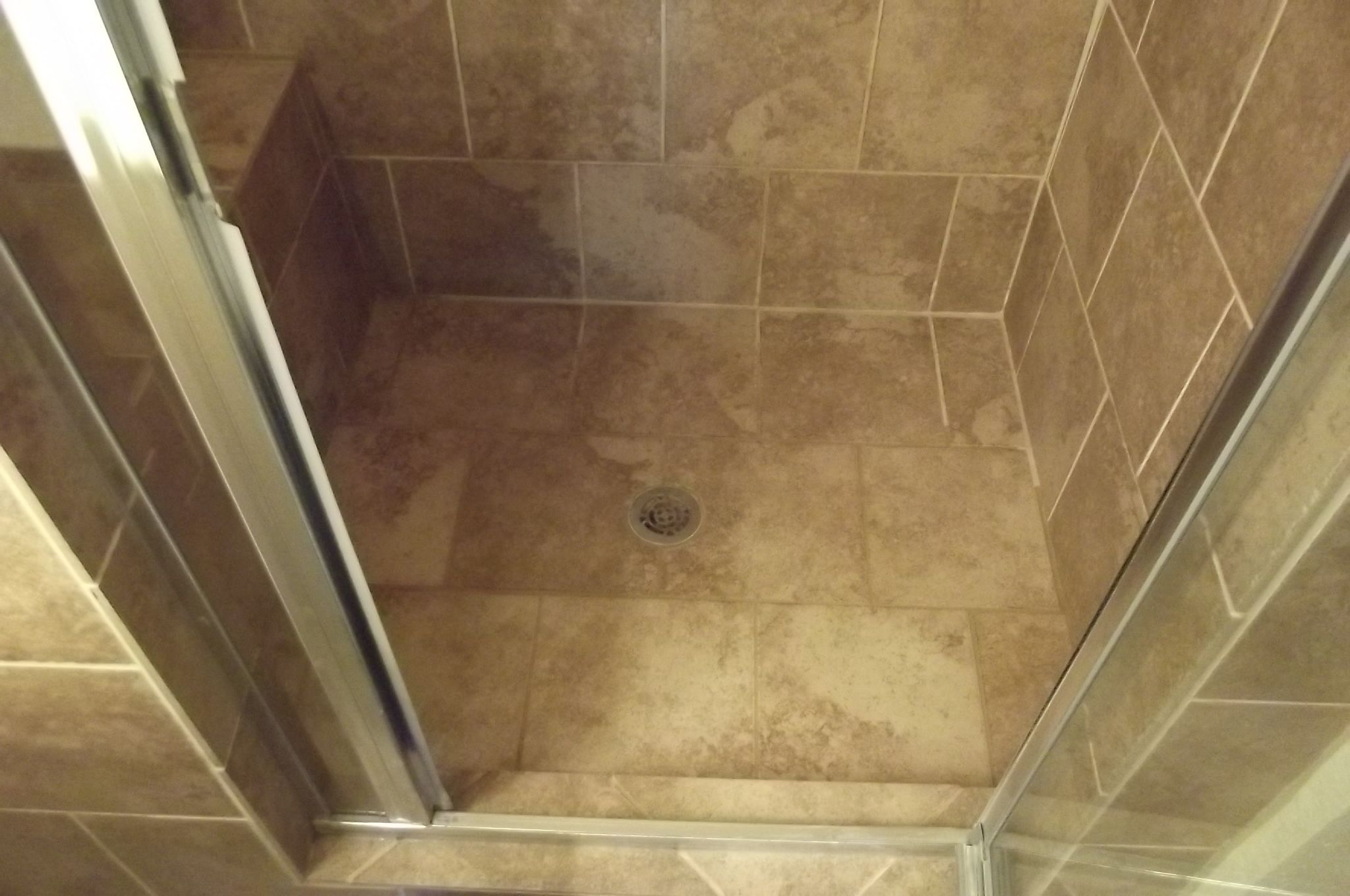 Shower Pans And The Tile Slope Towards The Drain Not Leave A 1 4
