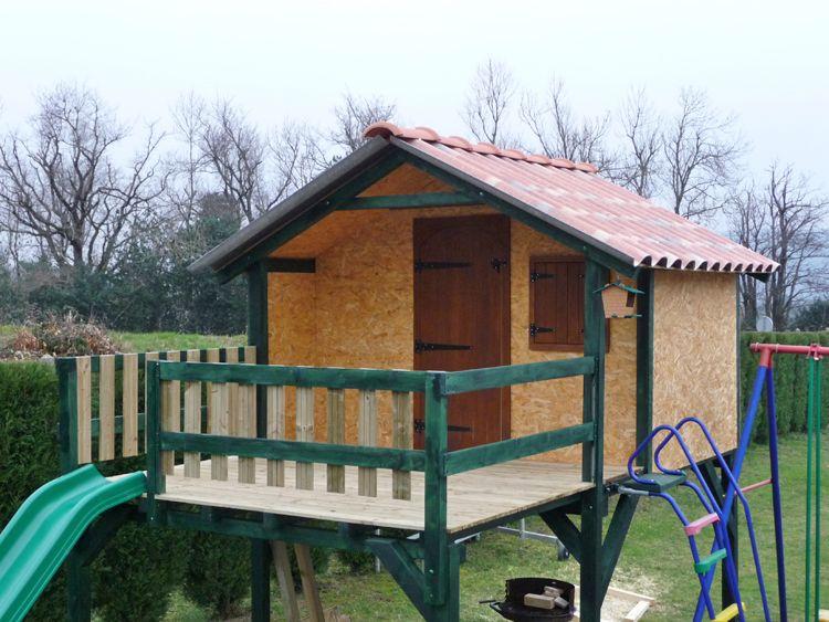 Plan cabane bois enfant - Les cabanes de jardin, abri de ... | Plan cabane en bois, Plan cabane ...