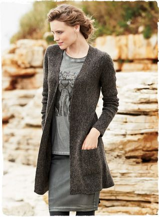 434e3bd75f0cc Alpaca's finest grade, royal alpaca, is woolen-spun and knit into this  links stitch cardigan. A luxurious option to a jacket, long, lean and  minimally ...