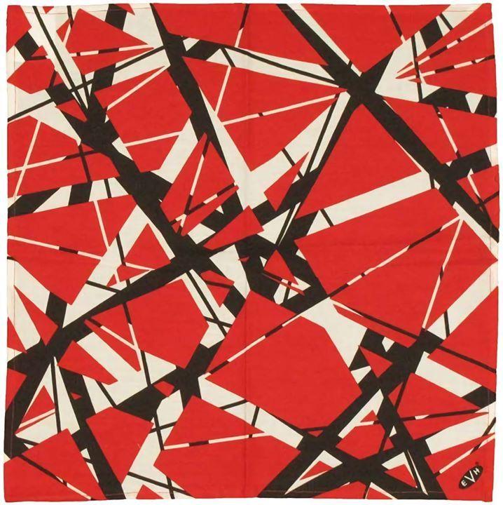 Frankenstrat Pattern (Eddie Van Halens guitar)   Van halen ...Eddie Van Halen Guitar Design