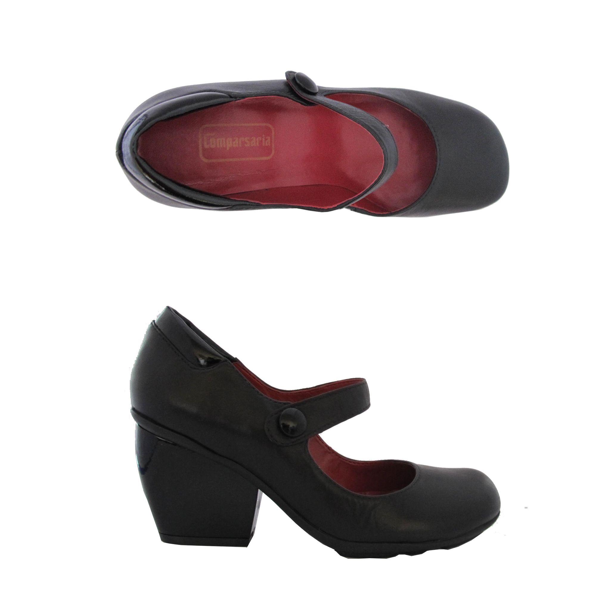 Sapato Suri preto Comparsaria
