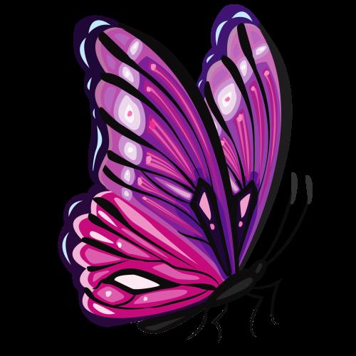 Free Png Downloads Konfest Butterfly Art Butterfly Drawing Butterfly Clip Art