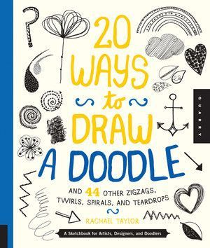 Swirls, spirals, and symbols come alive with 20 Ways to Draw a Doodle. Beautifully illustrated, this inspirational sketchbook lets you draw outside the trapezoid and create beautiful designs and patte