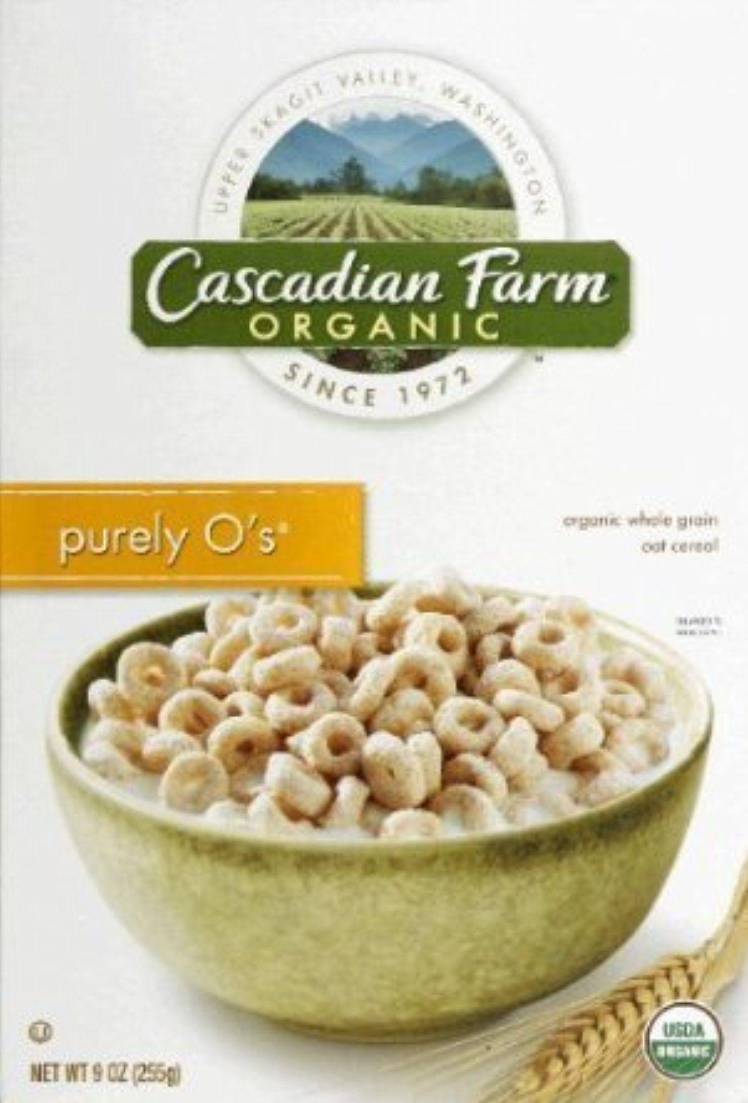 Cascadian Farm Organic Purely O's Cereal, 8.6-ounce Boxes (Pack of 2) by Cascadian Farm Organic -- Awesome products selected by Anna Churchill