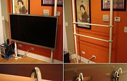 43 Unique Ways to Mount Your Flat-Screen TV