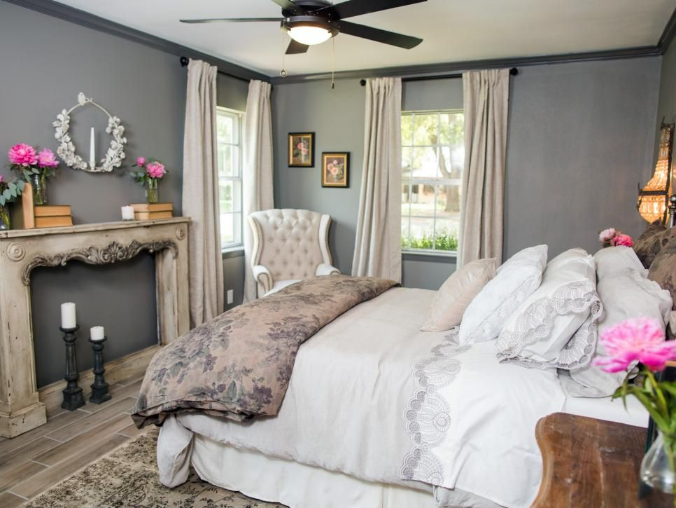 hgtv fixer upper brick house is old world charm for newlyweds schlafzimmer traumzimmer und. Black Bedroom Furniture Sets. Home Design Ideas