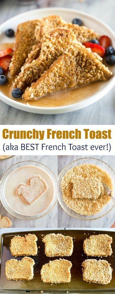 Crunchy French Toast #favoriterecipes