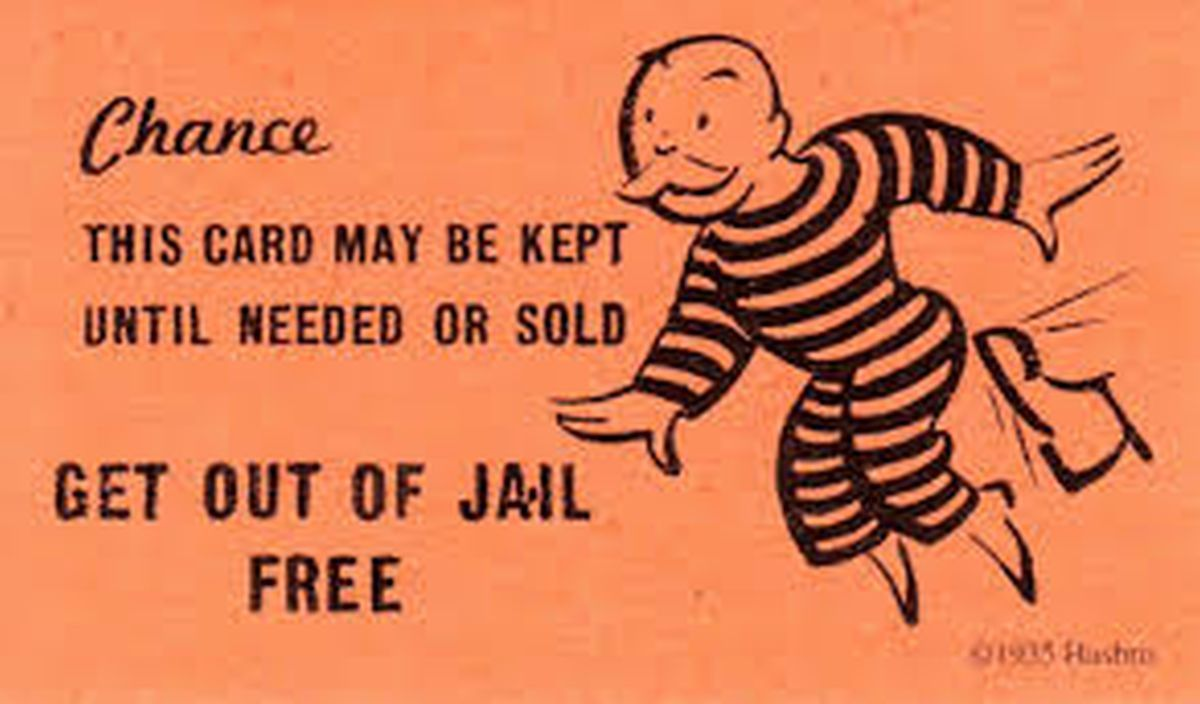 The Astounding Get Out Of Jail Clipart In Get Out Of Jail Free Card Template Photo Card Templates Free Business Card Template Word Free Business Card Templates