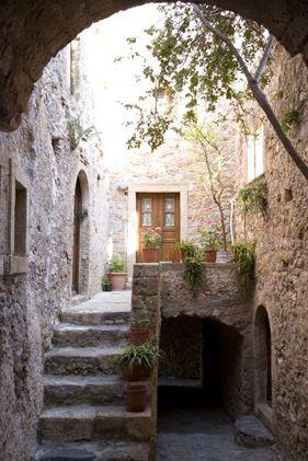 Medieval Monemvasia - Pelopenese - Greece