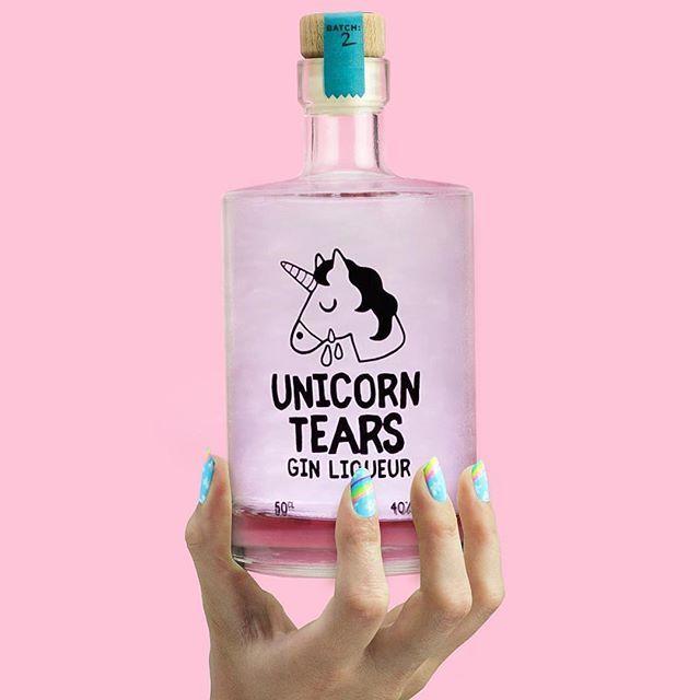Firebox Unicorn Tears Gin Liqueur 50cl Unicorn Tears Gin Gin