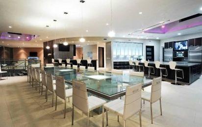 modern mansion dining room. Room Modern Mansion Dining