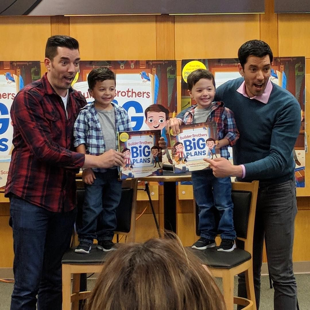 Builder Brothers Big Plans In 2020 Celebrity Books How To Plan Picture Book