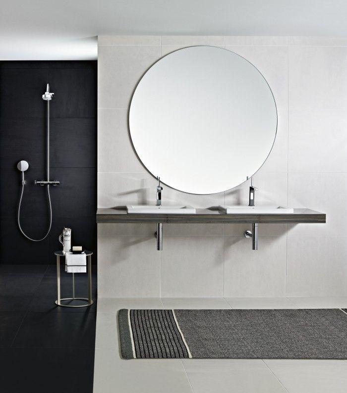 grote ronde spiegel badkamer - Google Search | Badkamer | Pinterest