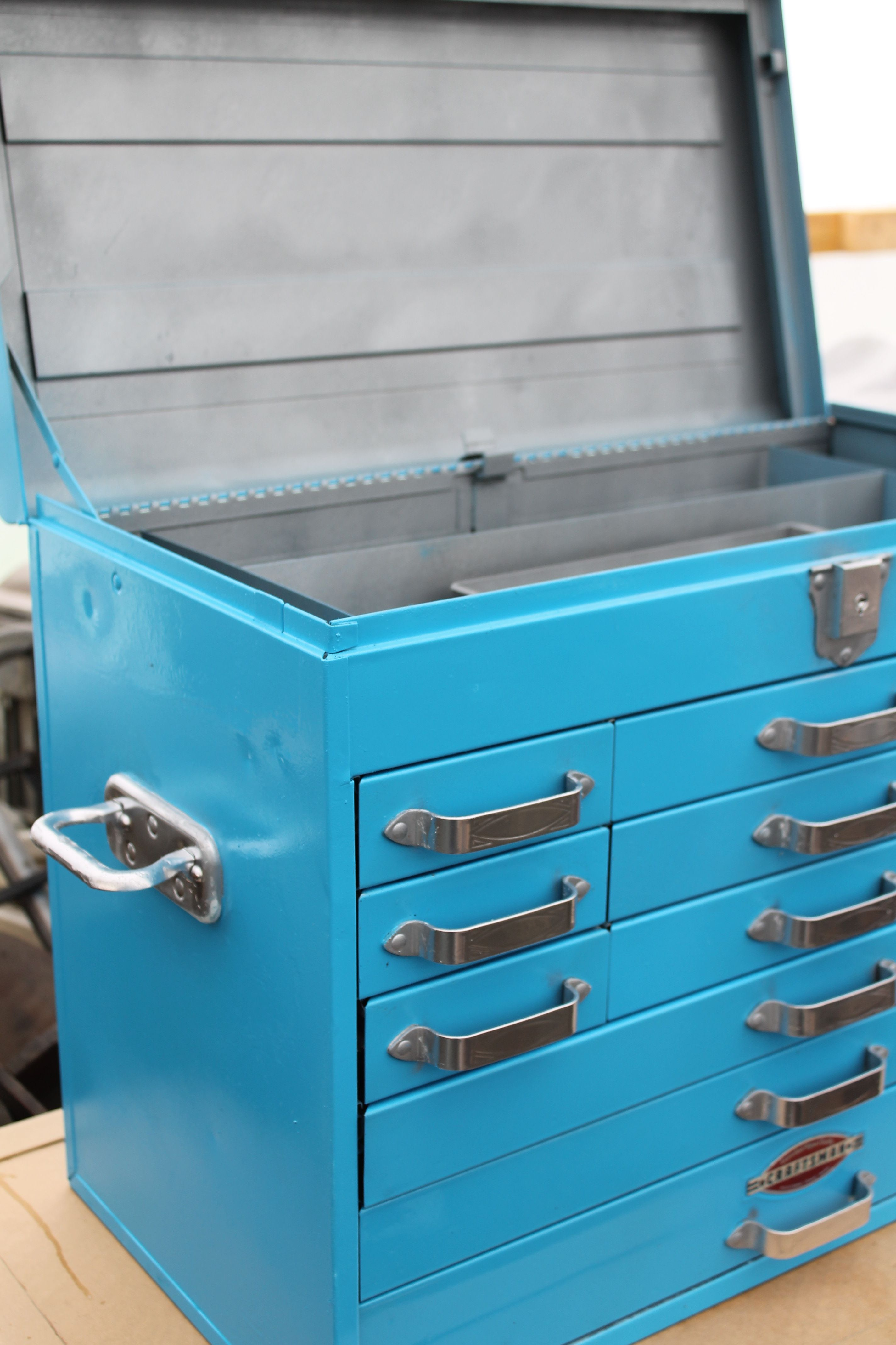 Pin By Josh I On Craftsman Tool Cabinet Restoration Mechanic Tool Box Tool Box Craftsman Tools